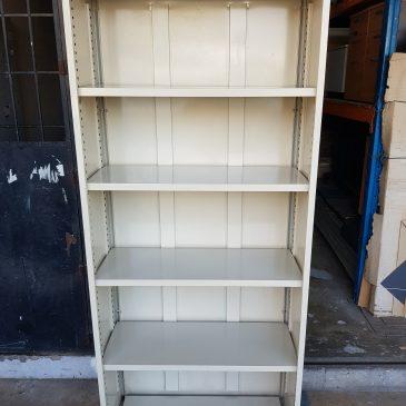 Metal Full Height Open Shelf Office Cabinet 7′